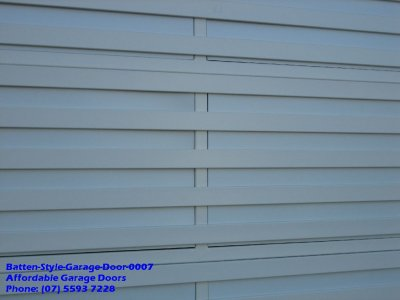 Batten Style Garage Door 0007