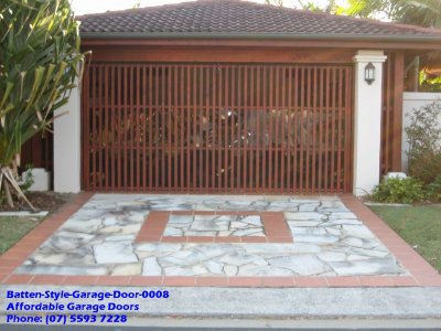 Batten Style Garage Door 0008