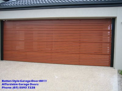 Batten Style Garage Door 0011