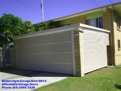 Batten Style Garage Door 0013