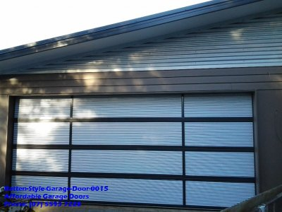 Batten Style Garage Door 0015